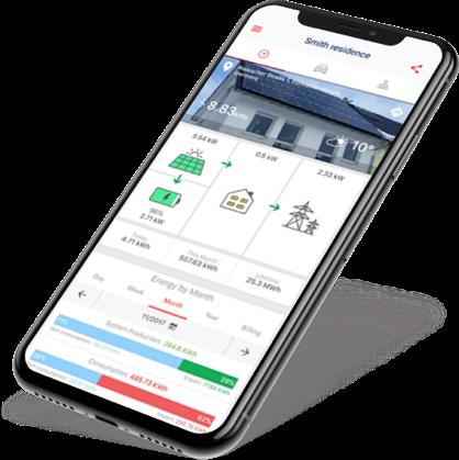 Dak Profijt SolarEdge monitoring app